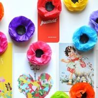 Stap voor stap magneet bloemen maken