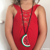 Easy peasy diy: watermeloenketting maken