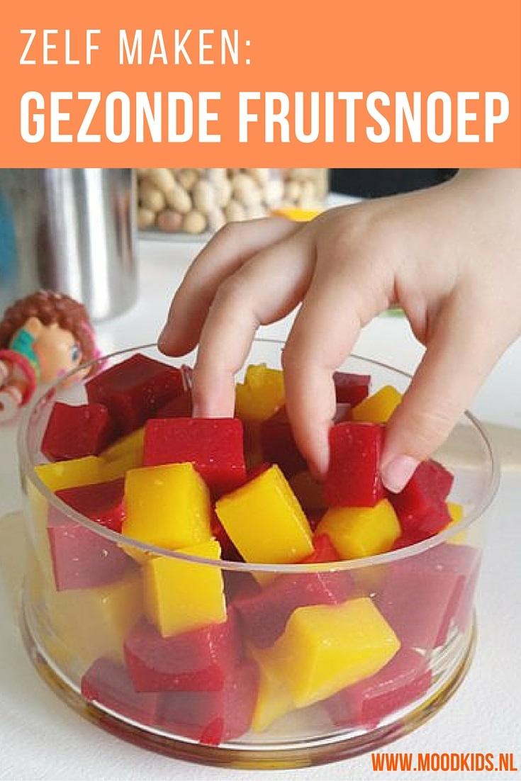 Met dit recept maak je van fruit gezonde snoepjes. Makkelijk te maken en kinderen vinden het heerlijk! Gezonder snoepen kan haast niet. Het recept vind je op www.moodkids.nl