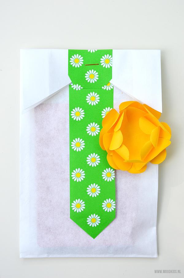 stropdas zakjes maken