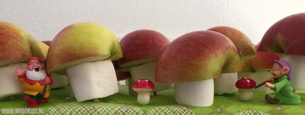 traktatie met appel maken