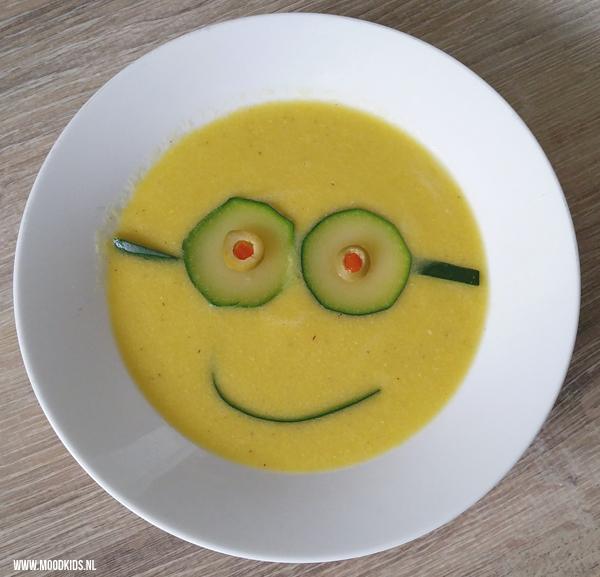 minion soep kids recept