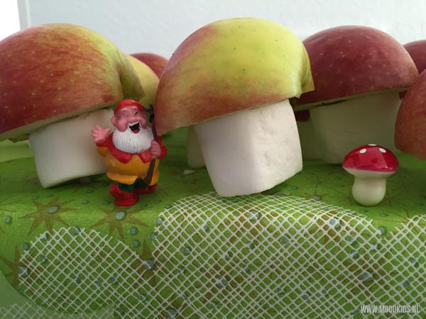 traktatie paddenstoel