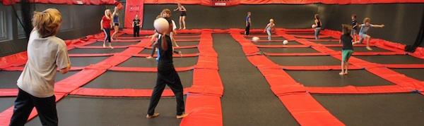 trampoline springhallen