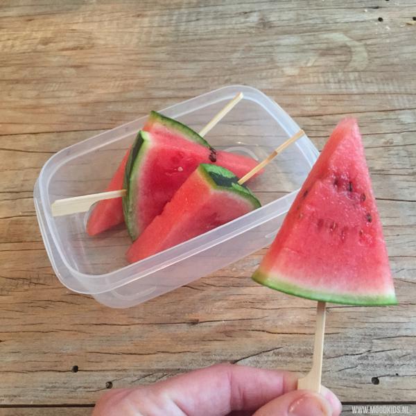 watermeloen traktatie ijsjes snack