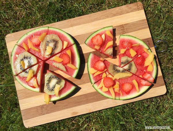 watermeloen pizza recept