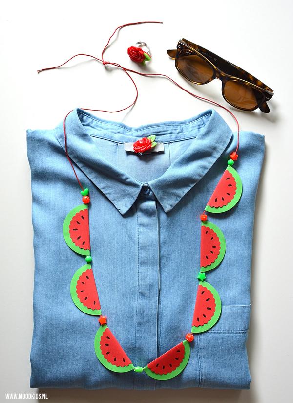 watermelon neckless paper