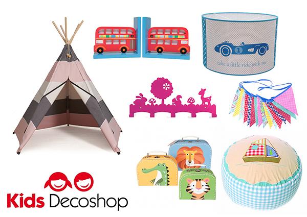 Kids Decoshop voor kleurrijke accessoires voor de kinderkamer
