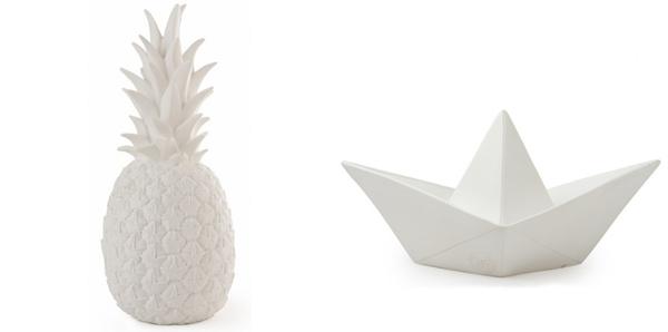 ananas en boot lamp