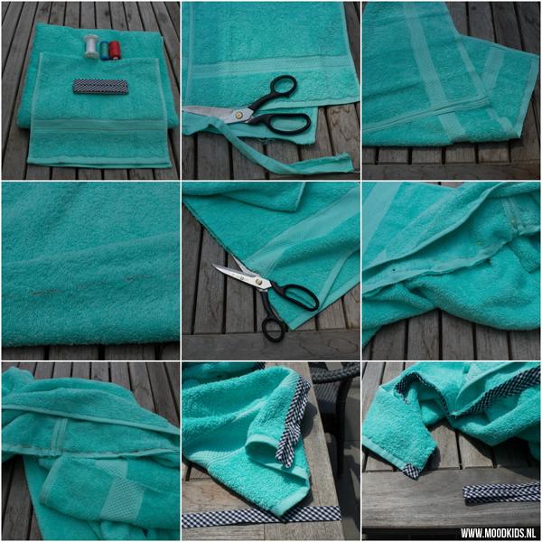 Stap Voor Stap Zelf Een Badcape Maken Van Een Handdoek