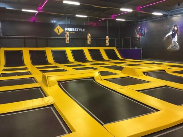 overzicht trampolinehallen in nederland