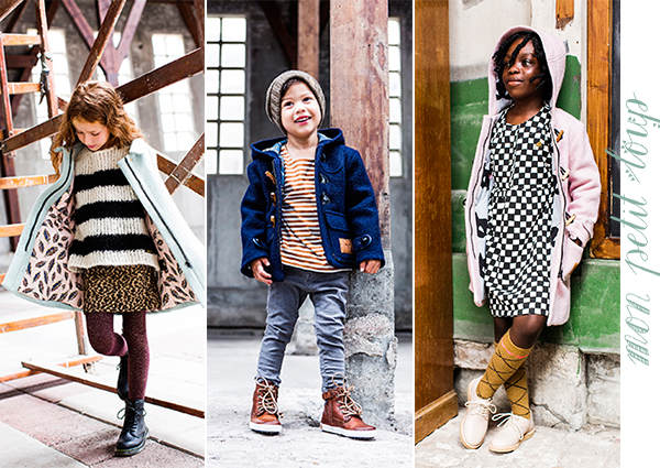 Mon Petit Loup winterjassen voor jongens en meisjes
