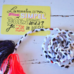 Make it yourself – een riem in boho style