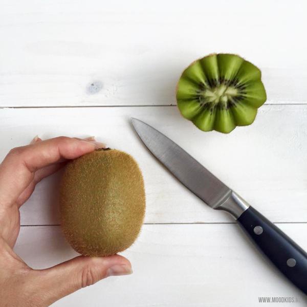 kiwi mooi snijden