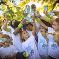 Wereld Schoolmelkdag wordt sportief gevierd