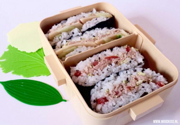 onigirazu maken foodtrend
