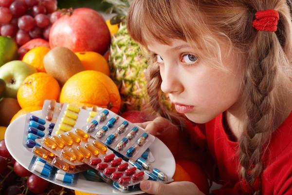 Voedingssupplementen voor kinderen