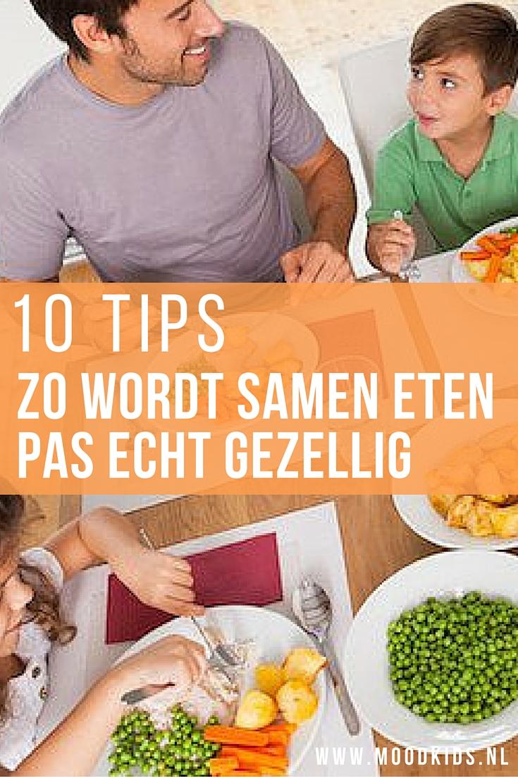 De meesten van ons vinden het fijn om met het hele gezin aan tafel te eten. In theorie dan. Want in de praktijk is het soms net een beetje minder gezellig dan je je had voorgenomen. Tafelmanieren worden als belangrijk gezien, maar het aanleren daarvan vraagt soms nogal wat van ouders. En van kinderen. Hoe hou je het dan leuk aan tafel? Probeer deze 10 tips!