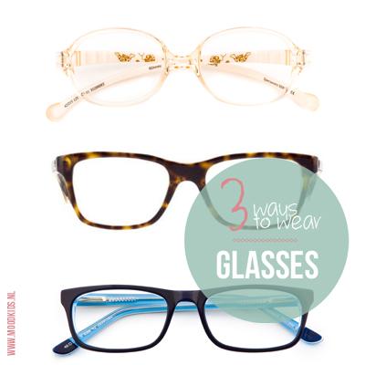 3 manieren om een kinderbril te dragen