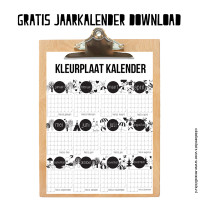 Download hier onze gratis jaarkalender