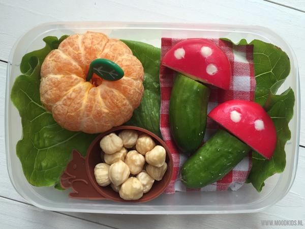 herfst lunchtrommel