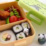 Sushi mee naar school