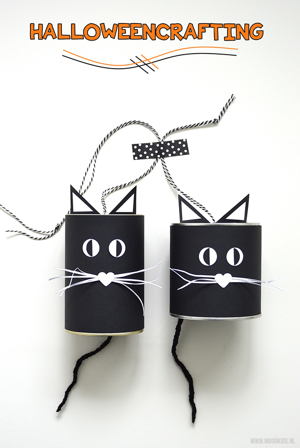 zwarte katten voor halloween
