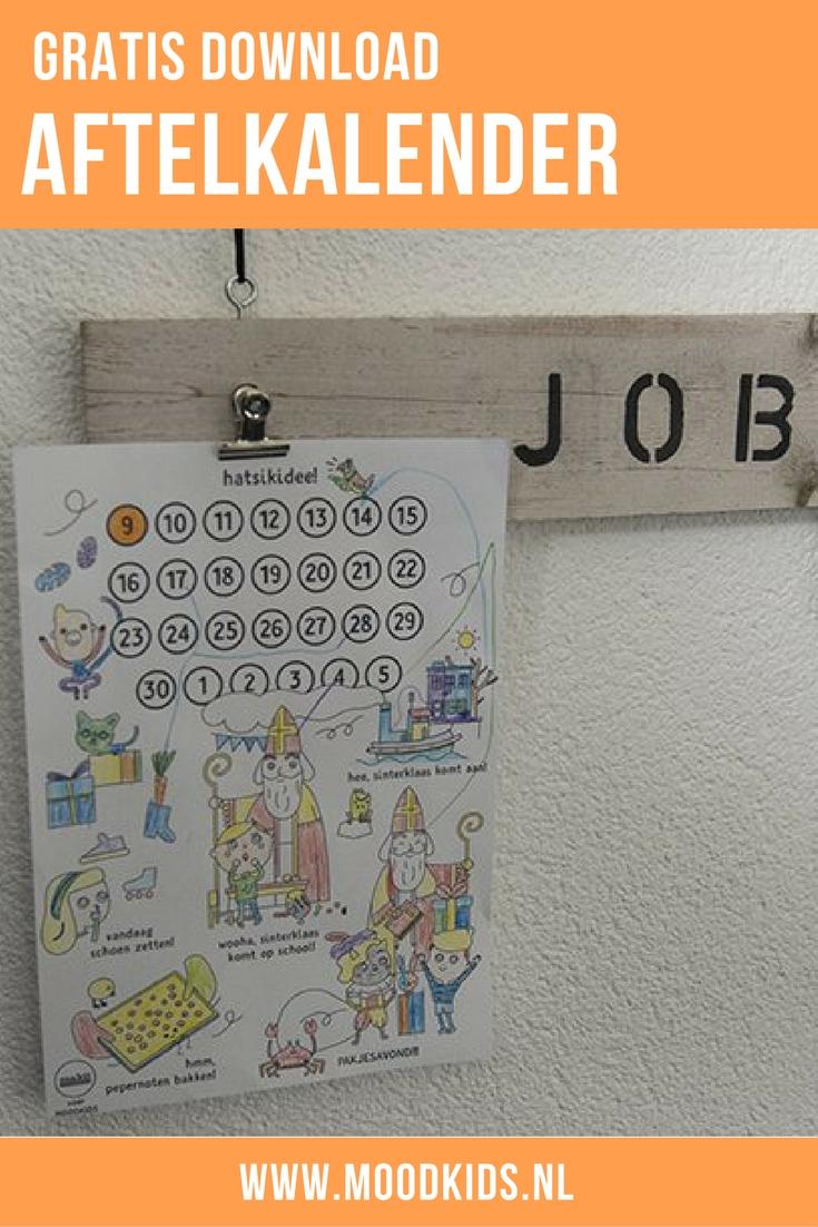 Makii maakte voor ons een hele toffe gratis Sinterklaas kalender waar je kind de belangrijkste gebeurtenissen van deze periode kan bijhouden. Van aankomst van de sint, schoenzetten, pepernoten bakken tot pakjesavond. De gratis printable vind je hier.