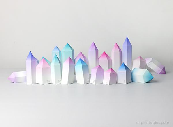 DIY Advent Kalender voor kinderen diamant