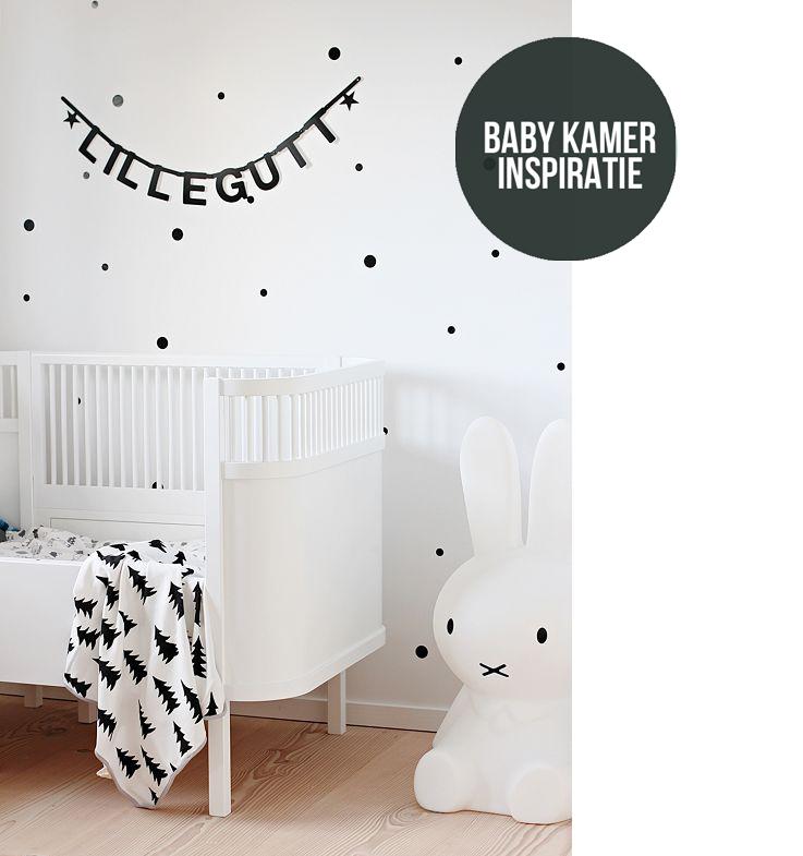 Sfeervol zwart wit in de babykamer  Moodkids