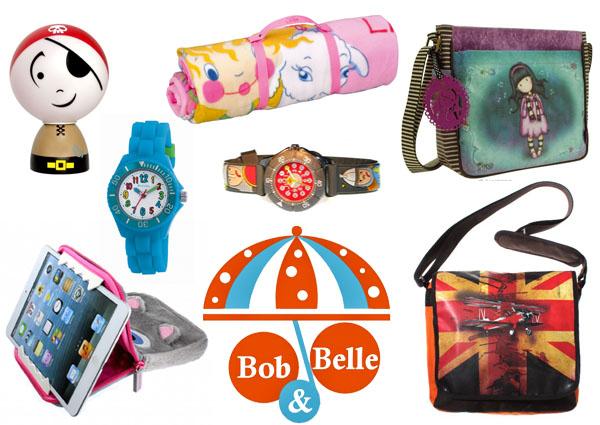 bob en belle trendy accessoires voor hippe kids