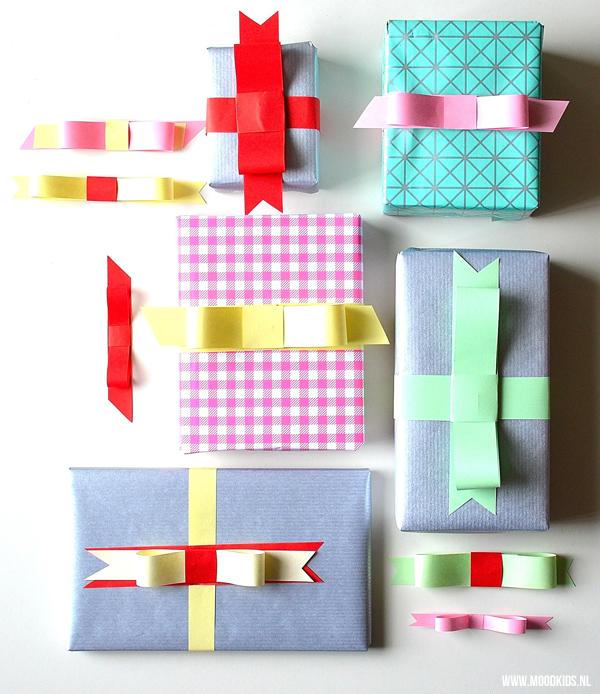 Pakjes versieren mooie en makkelijke strikken maken moodkids - Hoe een lange smalle gang te versieren ...