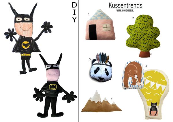 Kussens Kinderkamer: Kussen kinderkamer panda pomme van esthex kussens ...