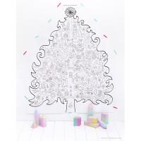 Alternatieve kerstbomen voor aan de muur