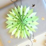Maak een ster voor (van) een cadeau
