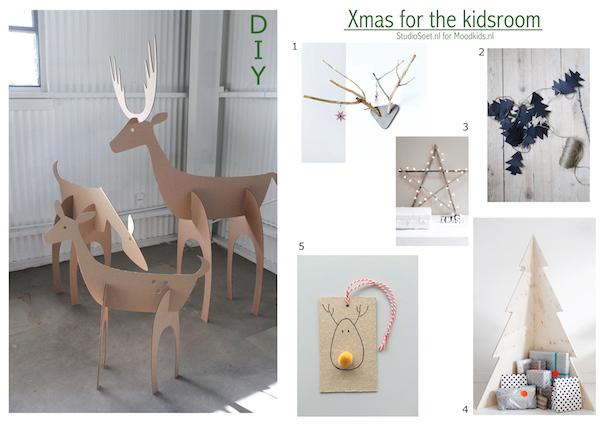 Kerst op de kinderkamer met 6 leuke zelfmakers