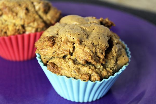 notenpasta cupcakes paleo