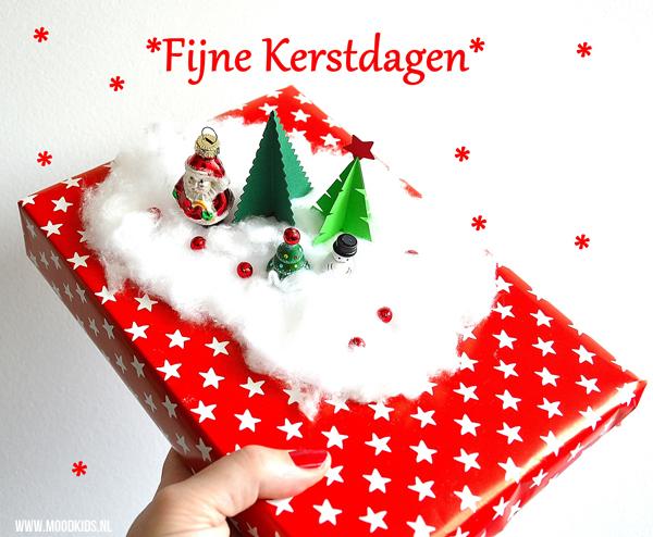 pakjes versieren voor kerst