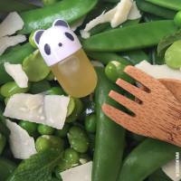 Peulvruchten salade voor mee naar school