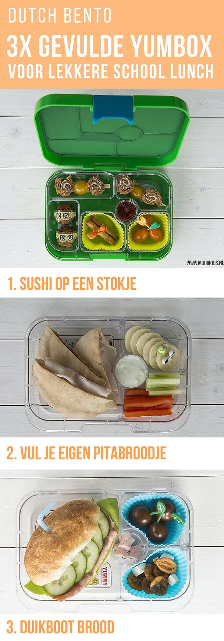Dutch Bento: 3 lekkere en gevarieerde recepten voor een lunch op school