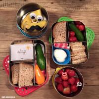Lunchtrommel met vakjes #DutchBento