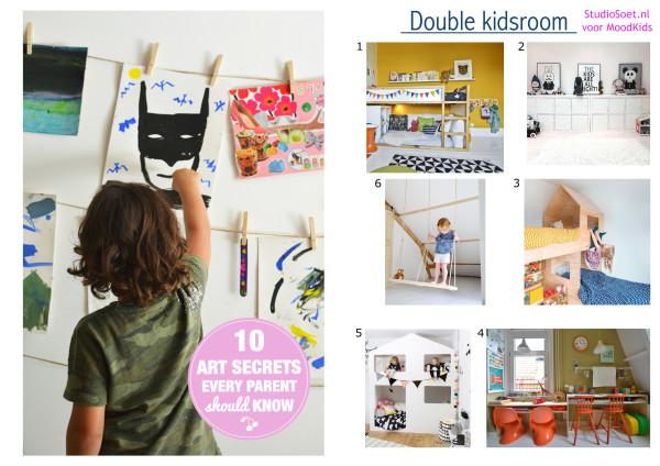 StudioSoet kinderkamer_moodkids double room, tips slaapkamer delen, kinderen slaapkamer delen
