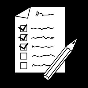 checklist, gebruiksaanwijzing van onze zoon