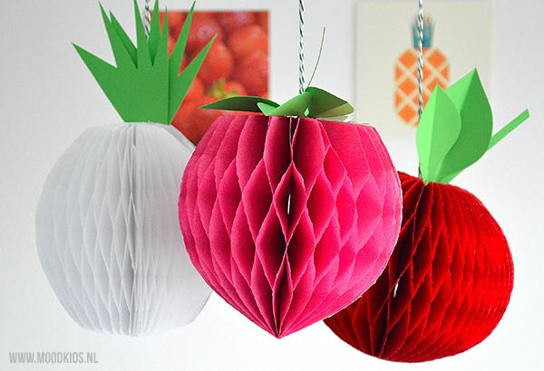 fruit van papier