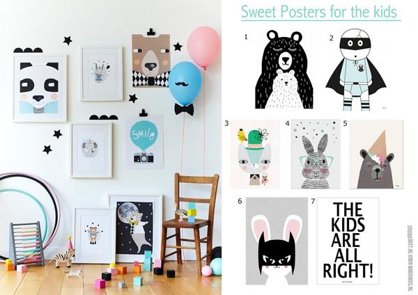 Leuke posters voor de kinderkamer   MoodKids