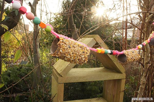 vogelvoer maken eindresultaat