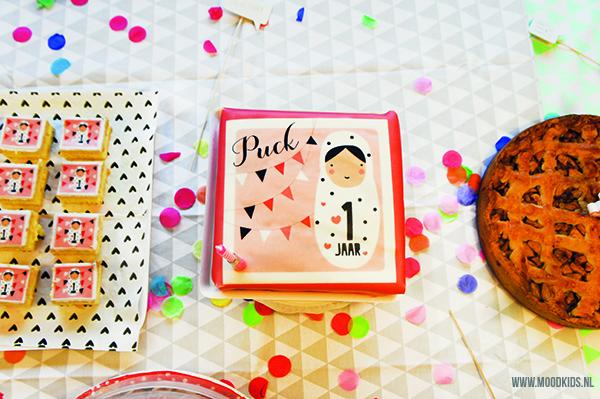 eerste verjaardag van je kind