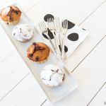 Chocola banaan muffins