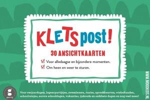 De meeste kinderen vinden het erg leuk om post te ontvangen. Met Kletspost haal je 30 leuke en originele kaarten in huis die kinderen geweldig vinden! Bekijk de voorbeelden op www.moodkids.nl