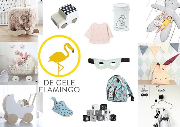 Let us inspire you! Met dat credo verwent webshop De Gele Flamingo ouders, baby's en kids met hét leukste speelgoed, stoere decoratie en hebbedingen. Bekijk deze webshop in de MoodKids webshopgids.